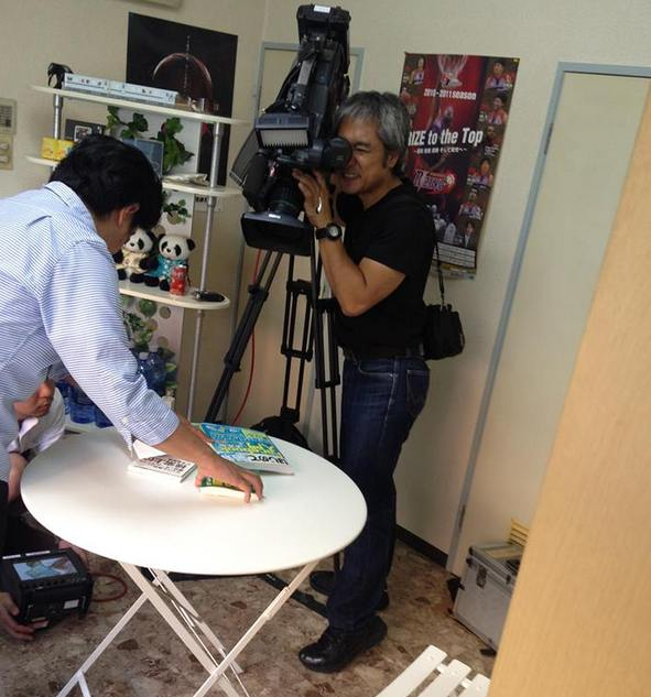 KBC九州朝日放送のテレビ番組「アサデス」に弊社代表 時枝が出演